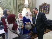 صور.. جامعة الزقازيق: برنامج تدريبى سياحى للوافدين من الجامعات العربية