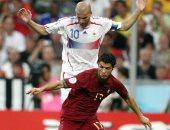 جول مورنينج.. زيدان يطيح بالبرتغال من نصف نهائي مونديال 2006