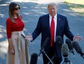 ترامب وميلانيا يختتمان زيارتهما للعاصمة الفنلندية هلسنكى