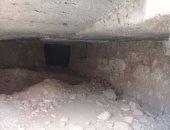 شاهد أول صور من داخل المدينة الأثرية المكتشفة بالمنيا