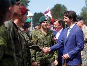 رئيس وزراء كندا يزور مجموعة الناتو القتالية فى لاتفيا - صور