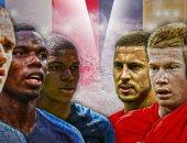 كأس العالم 2018.. التشكيل الرسمى لمباراة فرنسا ضد بلجيكا فى نصف النهائى