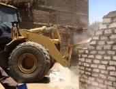 29 إزالة فورية و76 محضر إشغال طرق فى حملة أمنية بالقليوبية