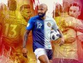 فرنسا ضد بلجيكا .. ديوك زرق.. شياطين حمر.. وتيرى هنرى بينهما