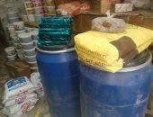 شرطة التموين تضبط مدير مخزن وبحوزته 7 طن مواد غذائية بالدرب الأحمر