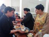 تدريب 46 سيدة ببنى سويف على صنع وجبات غذائية من فول الصويا (صور)