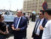 صور.. انتهاء التحقيقات مع رئيس الأعلى للإعلام بمقر نيابة أمن الدولة