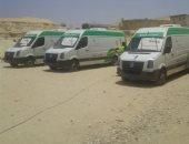 جامعة المنصورة تطلق أول قافلة طبية متكاملة لوسط سيناء