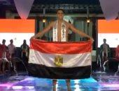 المصرى أحمد مدكور يحرز البرونزية بأفضل مايوه رجالى فى العالم