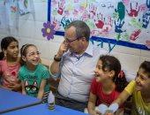صور.. المدير الإقليمى لليونيسف يشيد بعمل الحكومة المصرية فى ملف الأطفال