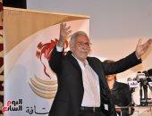توافد النجوم على المسرح القومى لتكريم عبد الرحمن أبو زهرة واسم الراحل حسين رياض - صور