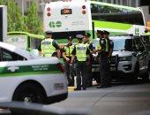 صور.. الشرطة الكندية تعزز وجودها فى تورونتو بعد تهديد غير محدد