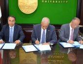 وثيقة تعاون بين جامعة الإسكندرية و متحف شنغهاى ومؤسسة صينية لتطوير التعليم