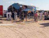 مصرع شخصين وإصابة 9 آخرين فى حادثين منفصلين بالسويس