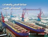قرأت لك.. صناعة السفن والمعدات البحرية فى الصين.. هكذا تحقق حلم الريادة