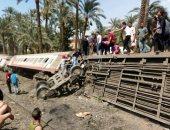 مصادر بالسكة الحديد: حادث قطار المرزايق وقع أثناء التحويل من سكة لأخرى