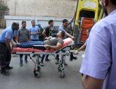 صور.. مدير مستشفى الهرم: إصابات حادث قطار المرازيق كسور وكدمات وحالة وحيدة فى غيبوبة