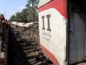 السكة الحديد تبدأ اليوم الاستماع لأقوال المسئولين عن حادث قطار البدرشين