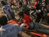 شاهد.. استشهاد 3 فلسطينيين برصاص قوات الاحتلال بمسيرات العودة
