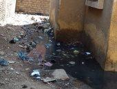 قارئ يشكو من انتشار مياه الصرف الصحى بشارع المسابك بمنطقة بشتيل