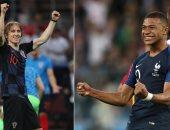 فرنسا و كرواتيا.. تعرف على التشكيل المتوقع لنهائى كأس العالم