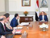 السيسى يستعرض تطورات مشروع إقامة مناطق خدمية متكاملة بأنحاء الجمهورية