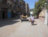صور.. محافظ سوهاج : رفع 38 طن قمامة ومخلفات صلبة بمركز البلينا