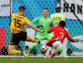 كأس العالم 2018.. بلجيكا تواصل تفوقها على إنجلترا 0/1 بعد مرور 25 دقيقة