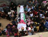 استشهاد فلسطينى وجرح 3 آخرين فى قصف إسرائيلى جنوب قطاع غزة