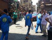 قارئ يطالب الحكومة بحملة لتنظيف وتلوين المنازل والتماثيل فى الشوارع
