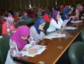 """صور.. جامعة أسيوط تنظم مؤتمر """"اختر كليتك"""" بالتعاون مع مكتبة الإسكندرية"""
