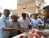 صور .. تحرير 18 محضر خلال حملة تموينية بسوهاج