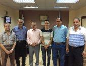 وكيل شباب الغربية يستقبل رئيس برلمان شباب مصر بالمؤتمر القومى