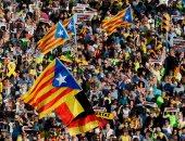 صور..الآلاف يتظاهرون فى برشلونة للمطالبة بإطلاق سراح الزعماء الانفصاليين