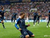 """جريزمان """"كلمة السر"""" فى تتويج فرنسا بكأس العالم.. فيديو"""