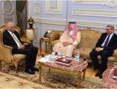 صور.. السفير السعودى فى القاهرة يكشف كواليس لقائه برئيس البرلمان