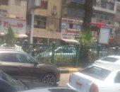 فيديو وصور.. زحام مرورى بنزلة محور صفط اتجاه جامعة القاهرة