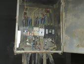 """استجابة لـ""""اليوم السابع"""".. الكهرباء تجرى صيانة لمحول قرية الجادلات بسوهاج"""