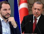 """تركيا تعترف بالانهيار.. وزير مالية أردوغان يصدم الأتراك بالأرقام.. توقعات بتراجع النمو لـ2.3% وارتفاع التضخم لـ20%.. """"البيرق"""": وقف مشاريع البنية التحتية لتوفير السيولة وسنلجأ لـ""""التمويل الدولى"""" للمشروعات"""