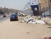 شكوى من تراكم القمامة بشكل كبير فى شوارع زهراء مدينة نصر