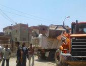 ازالة 807 حالات تعدٍ وإشغالات بمدينة ببا جنوب بنى سويف.. صور