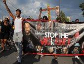صور.. مظاهرات فى شيكاغو احتجاجا على مقتل رجل أسود برصاص الشرطة الأمريكية