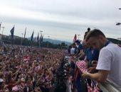 استقبال رائع لنجوم كرواتيا بشوارع زغرب بعد العودة من روسيا.. فيديو وصور