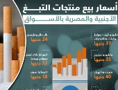 إنفوجراف.. تعرف على أسعار السجائر المصرية والأجنبية