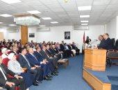 صور.. شكرى يطلع الملحقين العسكريين على مواقف مصر تجاه القضايا الخارجية