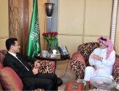 السفير السعودى فى مصر يستقبل نظيره اليمنى لبحث مستجدات الساحة اليمنية