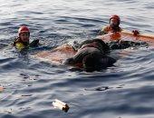 انتشال 55 جثة لمهاجرين من قارب انقلب قبالة ليبيا