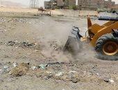 رفع 55 طن قمامة ومخلفات صلبة فى حملة بمركز البلينا فى سوهاج