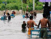 فيضانات تضرب الفلبين تعوق حركة الحياة بين المواطنين