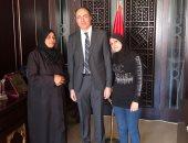 سفارة مصر بسوريا تخرج عائلتين مصريتين من الغوطة الشرقية والحجر الأسود